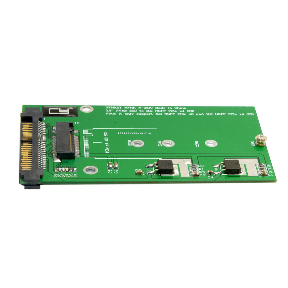 Nvme U 2 To Ngff M 2 M Key Pcie Ssd Adapter For Mainboard